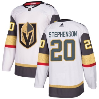 Youth Chandler Stephenson Vegas Golden Knights Adidas Away Jersey - Authentic White